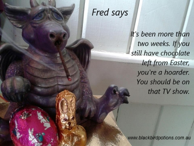Fred says 'You're a hoarder'