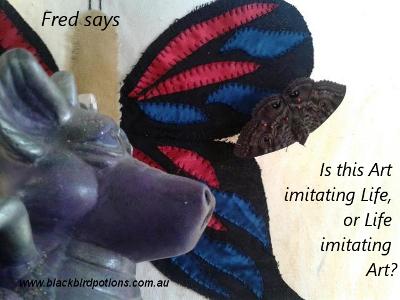 Fred says 'life imitates art'